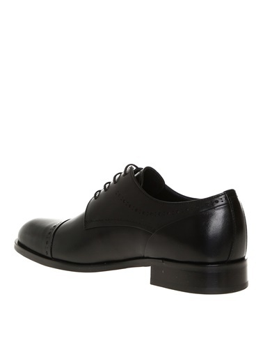 Greyder Greyder Erkek Deri Siyah Klasik Ayakkabı Siyah